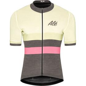 Alé Cycling Classic Vintage - Maillot manches courtes Homme - blanc/noir